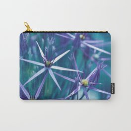 Allium Blue Carry-All Pouch