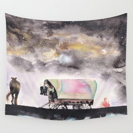 Rising stars above Wall Tapestry