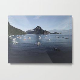 The Philippines Islands in El Nido Palawan Metal Print
