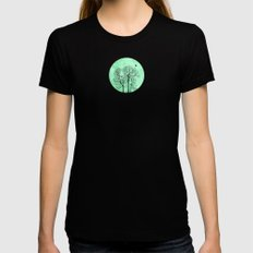 Perch Womens Fitted Tee Black SMALL