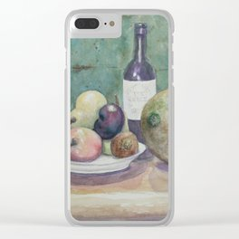 Cantaloupe Still Life WC150919a Clear iPhone Case