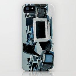 Cyber Junkyard iPhone Case