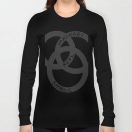 Imaginary - Real - Symbolic Long Sleeve T-shirt