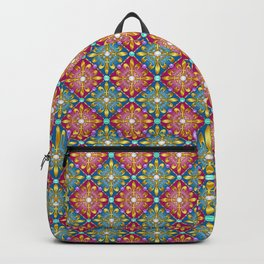 Medieval Diamonds Backpack