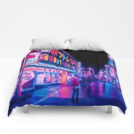 Neon Drip Comforters