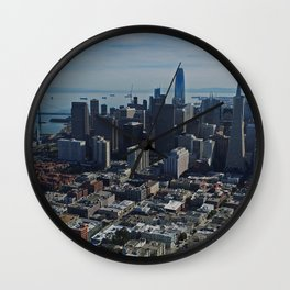 San Francisco Downtown Wall Clock