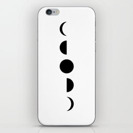 MOON VIBES (phases of the moon) iPhone Skin