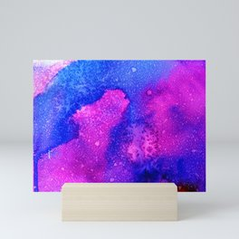 Blackcurrant sea Mini Art Print
