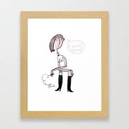 so good Framed Art Print