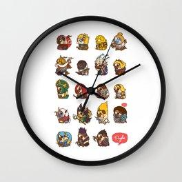 Puglie LoL Vol.2 Wall Clock