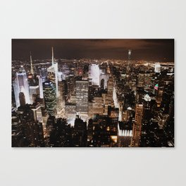 On The Empire Canvas Print