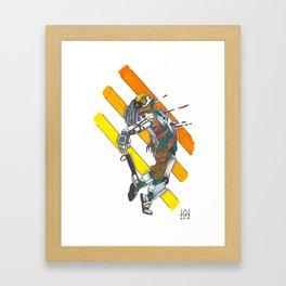 The Death of Rein Framed Art Print