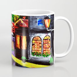 Tardis Phone Both Starry Night Coffee Mug