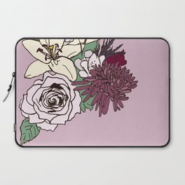 Flowers From The Universe Laptop Sleeve