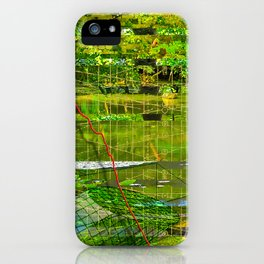 Landscape of My Heart (segment 3) iPhone Case