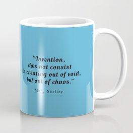 Mary Shelley, hand-drawn portrait Coffee Mug
