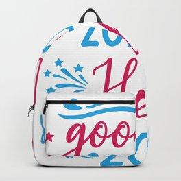 Goodbye 2020 Hello 2021 Backpack