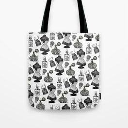 Victorian Wall Paper Tote Bag