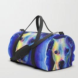 Marilyn the dog Duffle Bag
