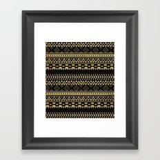 Tribal Ink Framed Art Print
