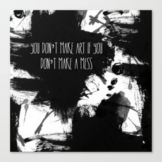 Graphic_ARt quote  Canvas Print