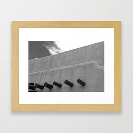 Shapes of Adobe Architecture Framed Art Print