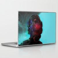 cyberpunk Laptop & iPad Skins featuring Cyberpunk #2 by Lunaramour