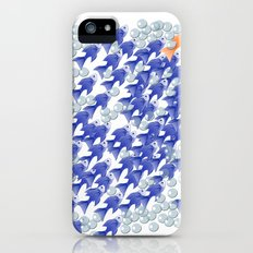 100 fishes Slim Case iPhone (5, 5s)