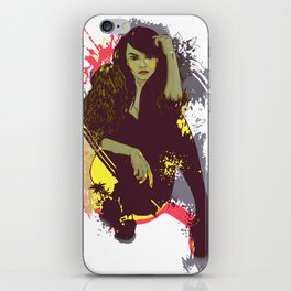 woman K. iPhone Skin