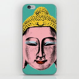 Pink Buddha iPhone Skin