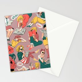 Reading Gals Stationery Cards