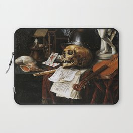 Vintage Vanitas- Still Life with Skull 3 Laptop Sleeve