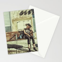 Waiting game Stationery Cards