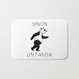 Sinon, un panda (2) Bath Mat