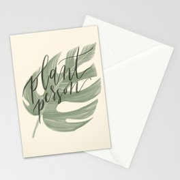 Plant Person Stationery Cards