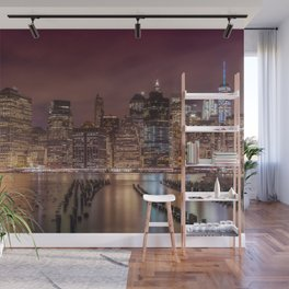 NEW YORK CITY Nightly Impressions Wall Mural