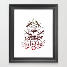 Style Hell Framed Art Print