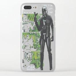 Elite Imperial Squad Clear iPhone Case
