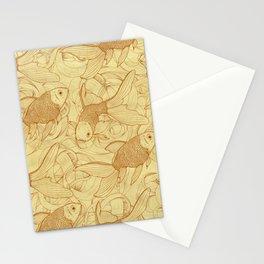 Vintage Goldfishes II Stationery Cards