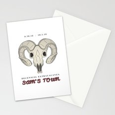 Sam's Town Decennial The Killers Stationery Cards