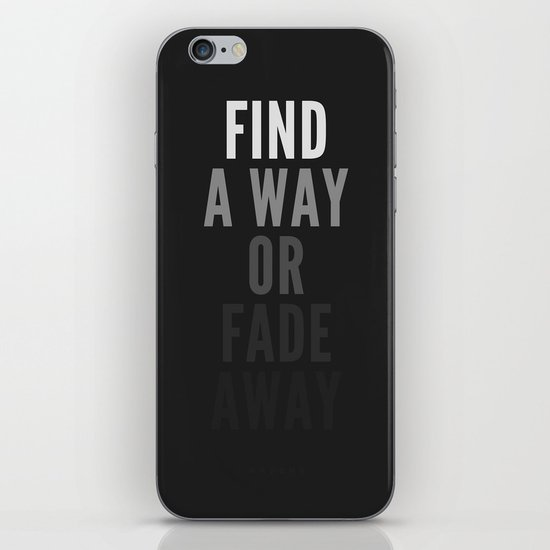 Fade Away iPhone & iPod Skin