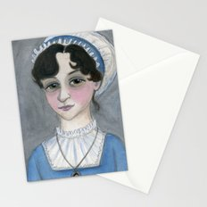 Jane Austen and Her Lost Heart Stationery Cards