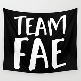 Team Fae - Inverted Wall Tapestry