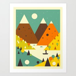 SCENIC Art Print