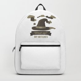 (tshirt) What Up My Witches (vintage) Backpack