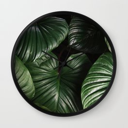 Botanical Luxe Wall Clock