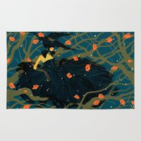 witch Area & Throw Rugs featuring Witch by Shaina Anderson