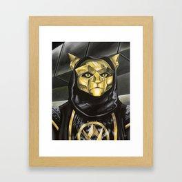 Klawtus Framed Art Print