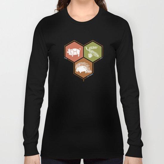 simple math Long Sleeve T-shirt