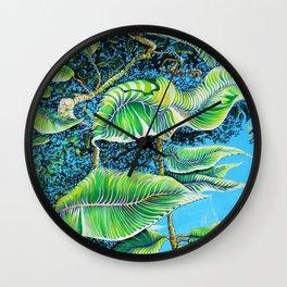 Julie's Jungle Wall Clock